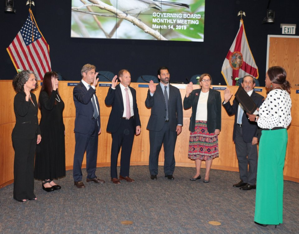 Newly-appointed board starts at SFWMD