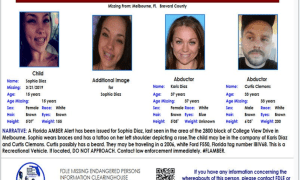 Amber Alert: 15-year-old female from Palm Bay