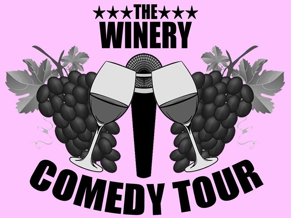 """Win two tickets to """"Winery Comedy Tour"""" at Summer Crush Winery!"""