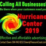 TreasureCoast Hurricane Center 2019!
