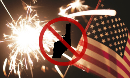 Police remind us not to shoot off guns July 4th