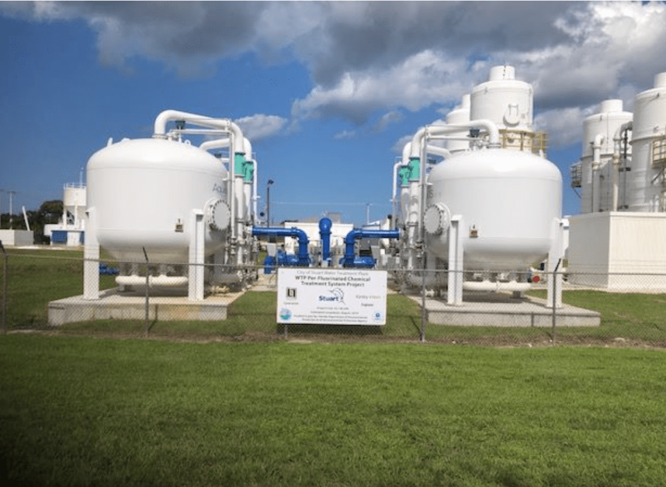 Newly constructed PFC Treatment System is operational