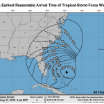 Hurricane Dorian Update 5: St. Lucie County to Open Shelters Sept. 1