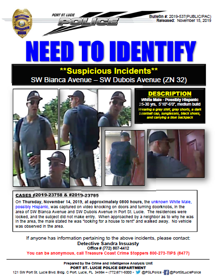 PSLPD Police: Who is this guy?