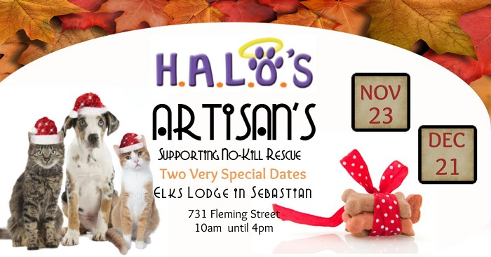 H.A.L.O.'s Artisans at Elks Lodge