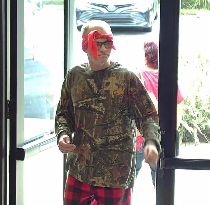 UPDATE: Video of Backwards Bandana Bank Robber