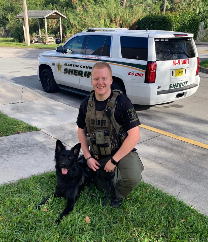 Martin Sheriff welcomes 3 new K-9s as all canines get new custom protective vests