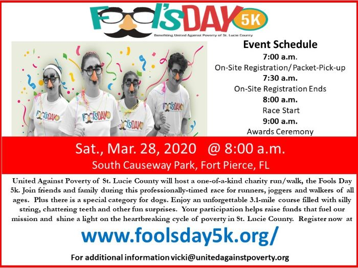 Fool's Day 5K Charity Run