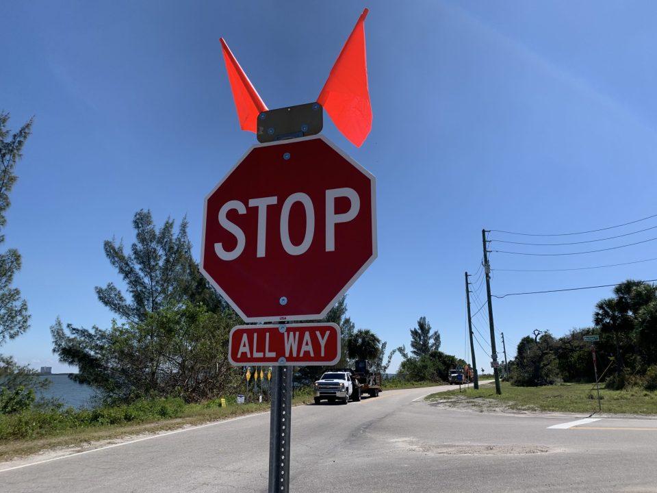 New 3-way stop at Walton Rd and Indian River Drive