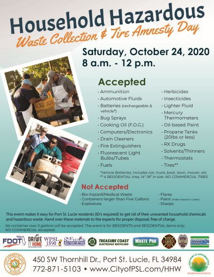 KPSLB Household Hazardous Waste Collection & Tire Amnesty Day