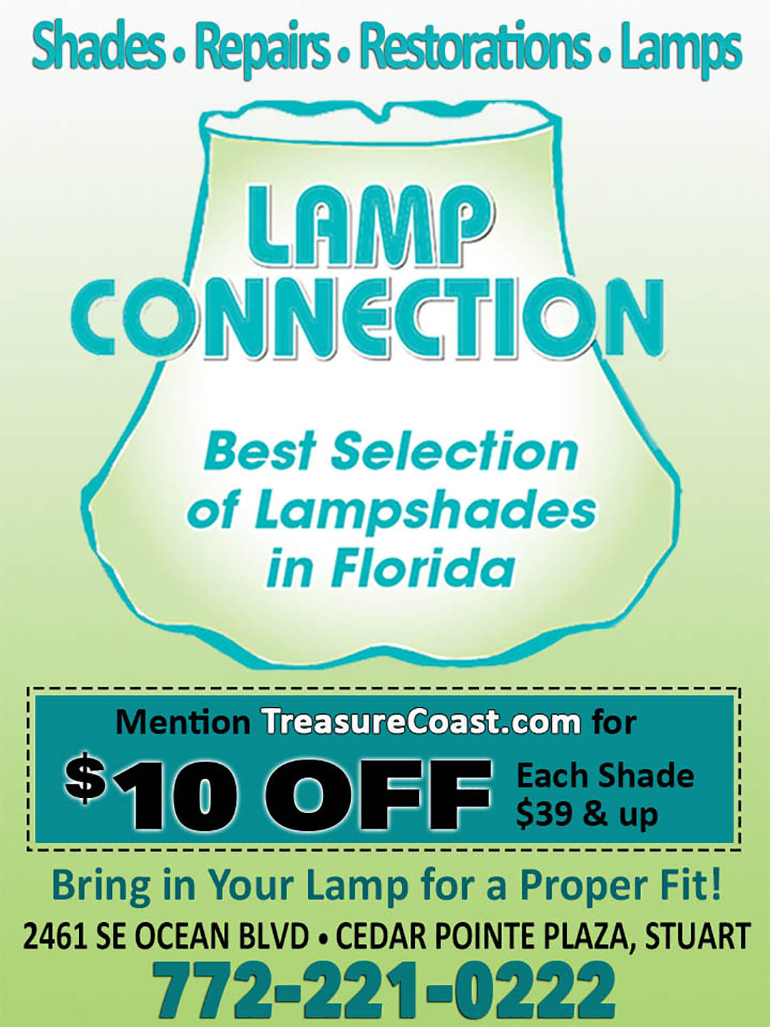 Lamp Connection coupon