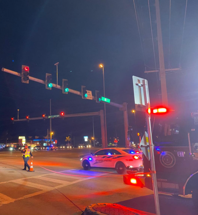 Motorcyclist hospitalized after crash in Port St. Lucie
