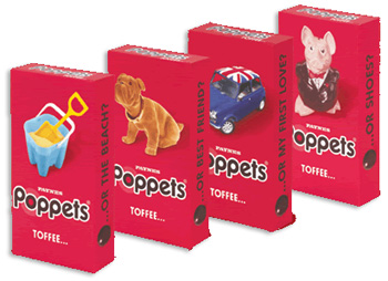 Poppets Toffee Traditional Sweets From The Uks Original