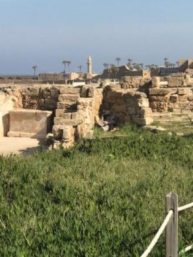 Another View of Remnants of Herod's Palace - Roman Praetorium