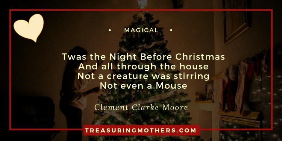 Magical Christmas Miracle, Clement Clarke Moore
