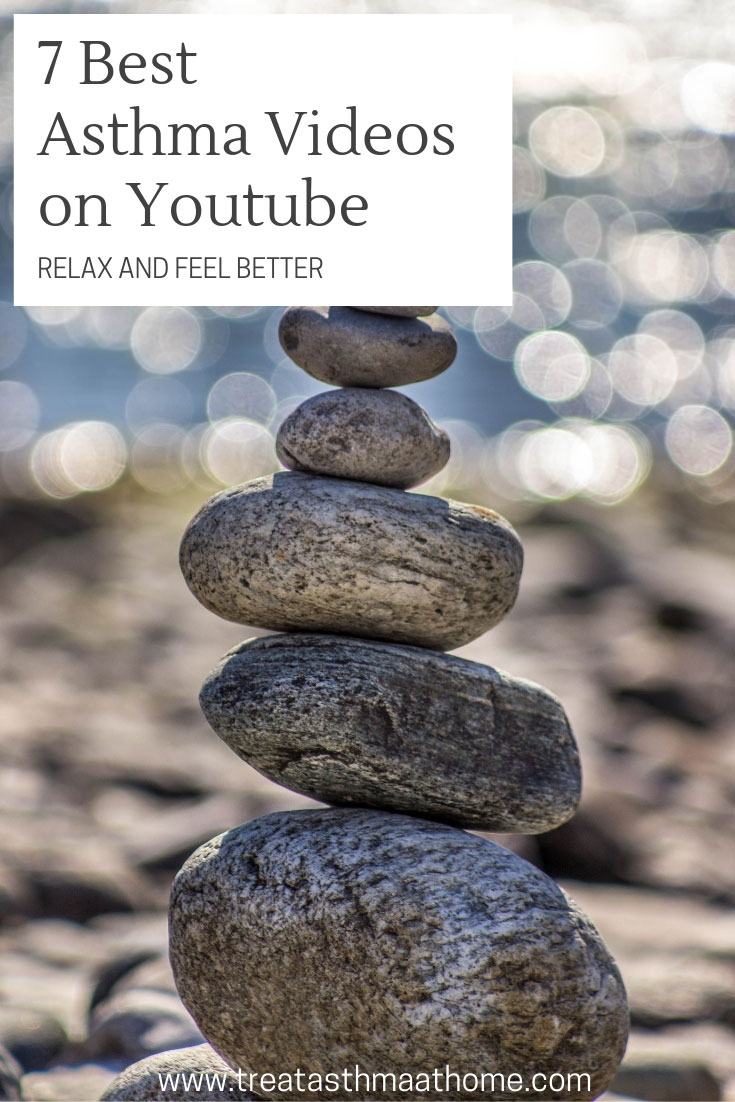 best-asthma-management-videos-on-youtube pinterest graphic