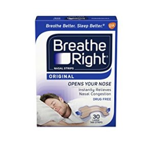 breathe right strips used to treat asthma symptoms