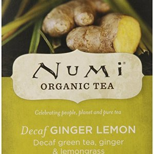 numi decaf ginger lemon green tea