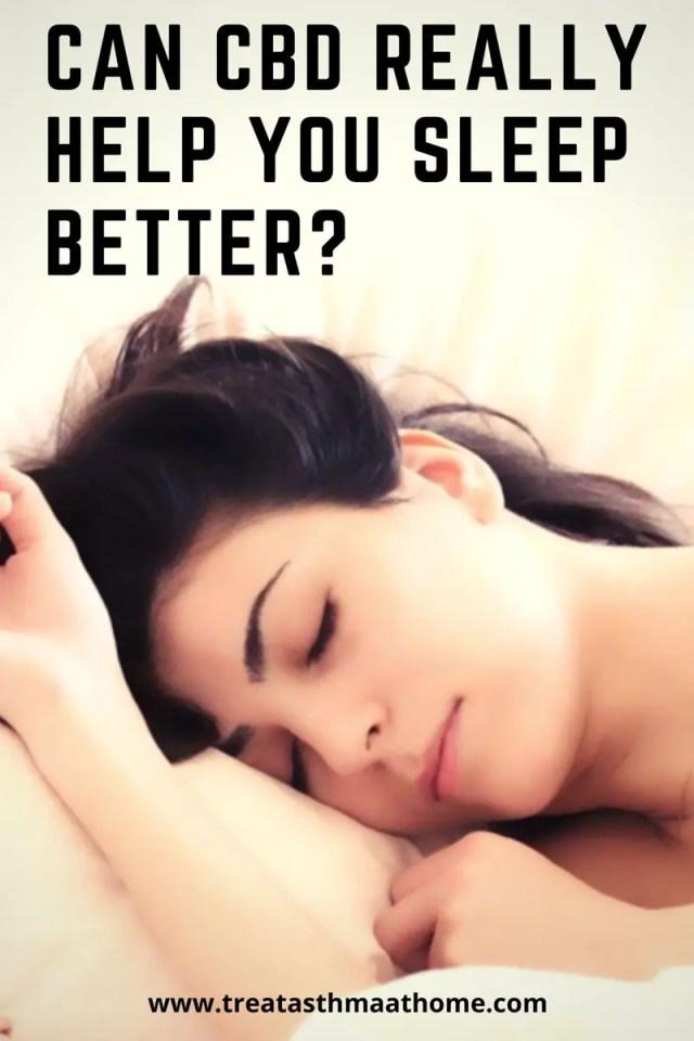 Can CBD Help You Sleep Better?