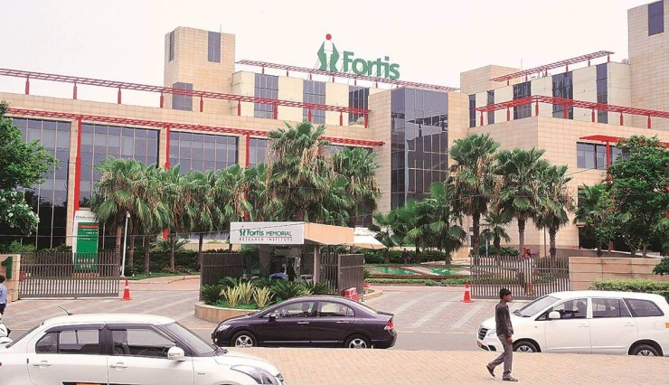 Fortis hospital located in gurgaon city