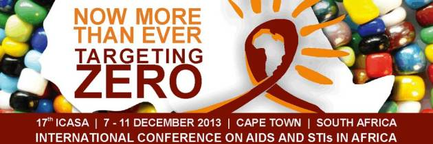 Couldn't get funding to go to ICASA, Cape Town, December 7-11