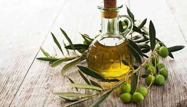 Olive oil is good for removing goosebump skin fast
