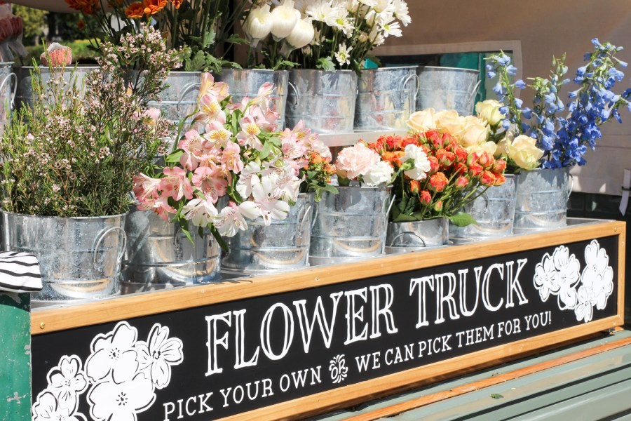 Amelia's Flower Truck, Mobile Flower Shop, Nashville, 12 South, Instagram, Treats and Trends, Flowers, Blog, Travel