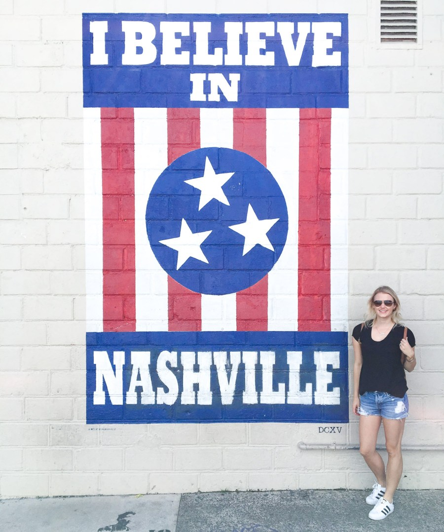 I Believe In Nashville, Street Art, 12 South, Nashville, Treats and Trends