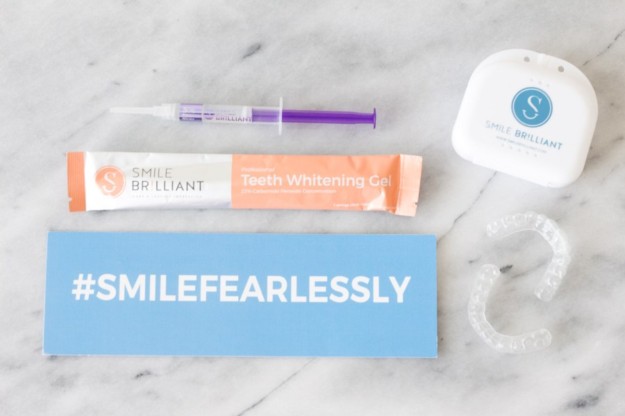 Smile Brilliant, teeth whitening at home, beauty, blog, Treats and Trends