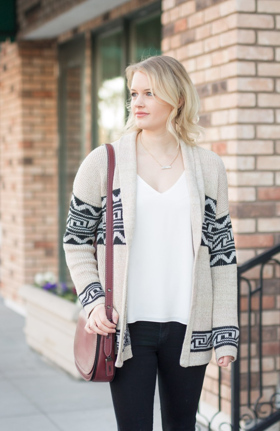 Designer Handbags Under $500 That Are Worth The Investment, Coach saddlebag, fashion blog, Treats and Trends, fall outfit, winter outfit