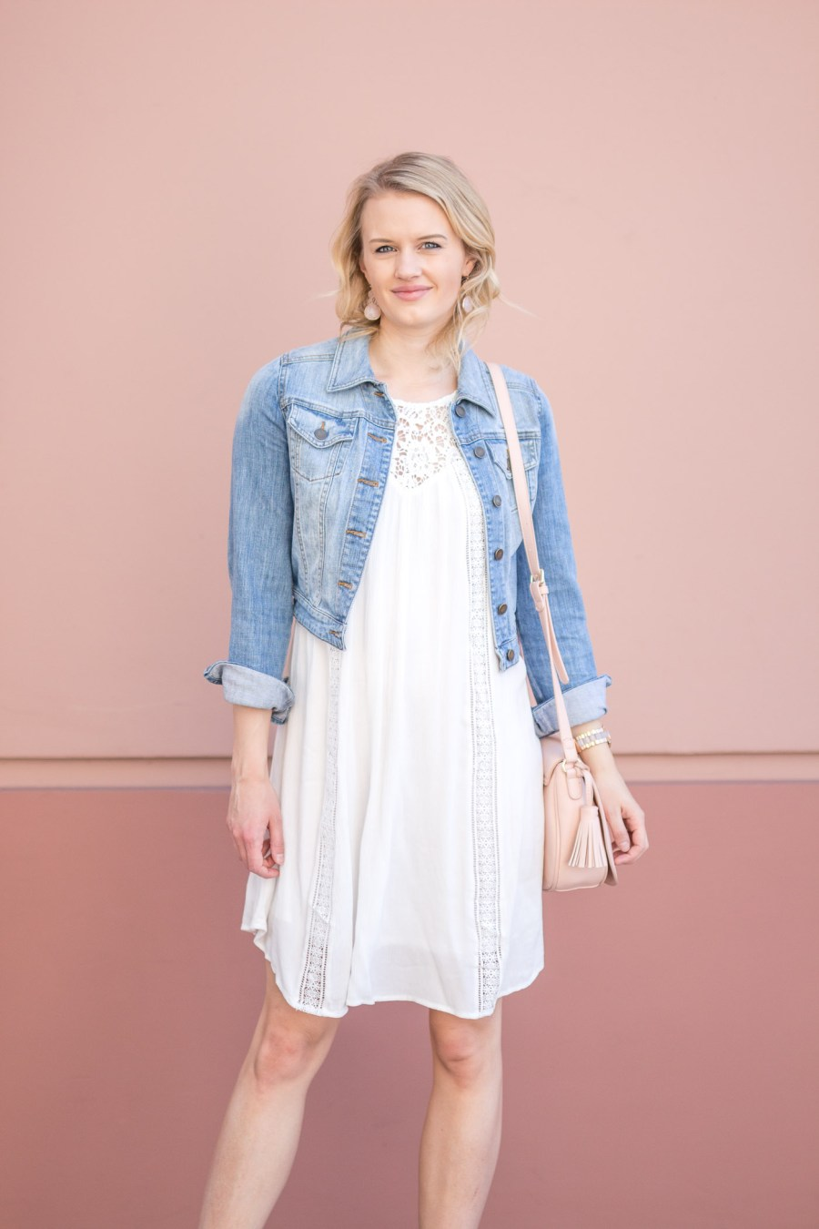 10 Little White Dresses You Need For Spring, Old Navy dress, fashion blog, Treats and Trends