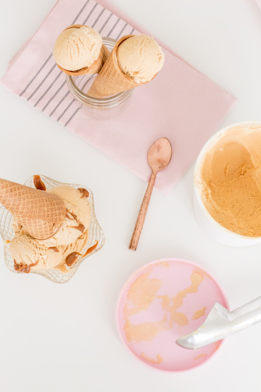 5-Ingredient Dulce de Leche Ice Cream, cinco de mayo dessert recipe, Treats and Trends