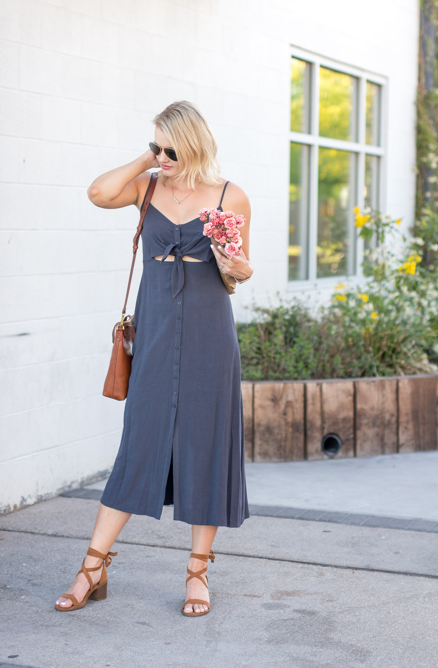 3cae9cccb59 The Perfect Midi Dress for a Heat Wave - Treats and Trends