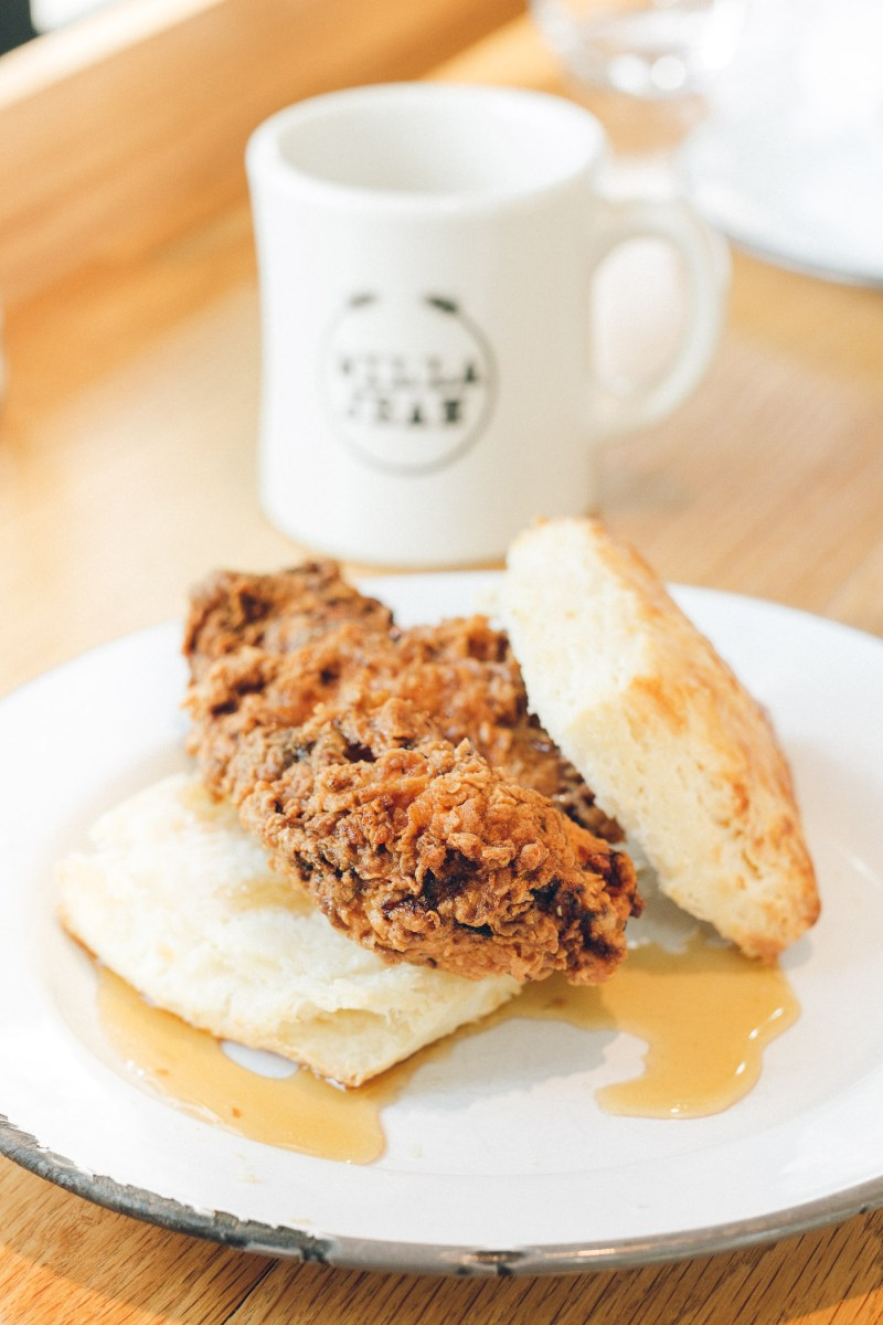 Where To Eat and Drink in New Orleans, Willa Jean Fried Chicken Biscuit