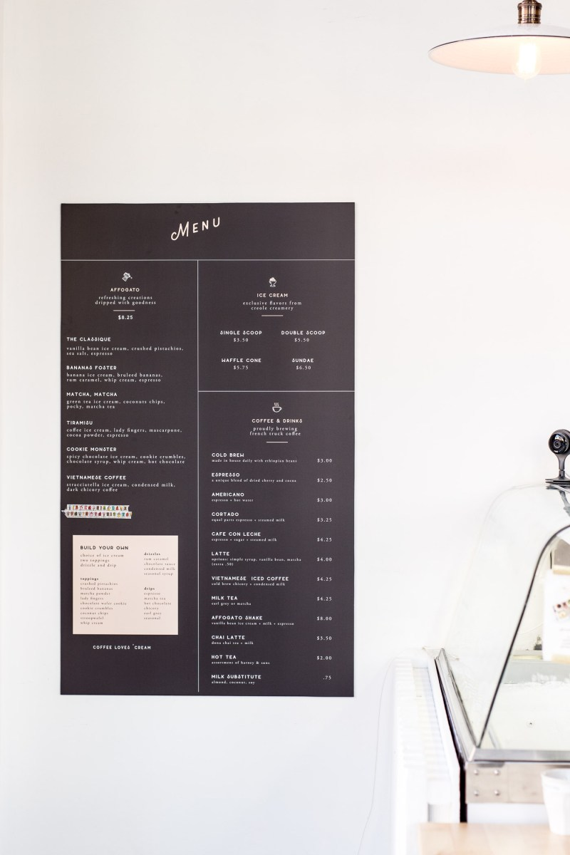 Where To Eat and Drink in New Orleans, Drip Affogato Bar