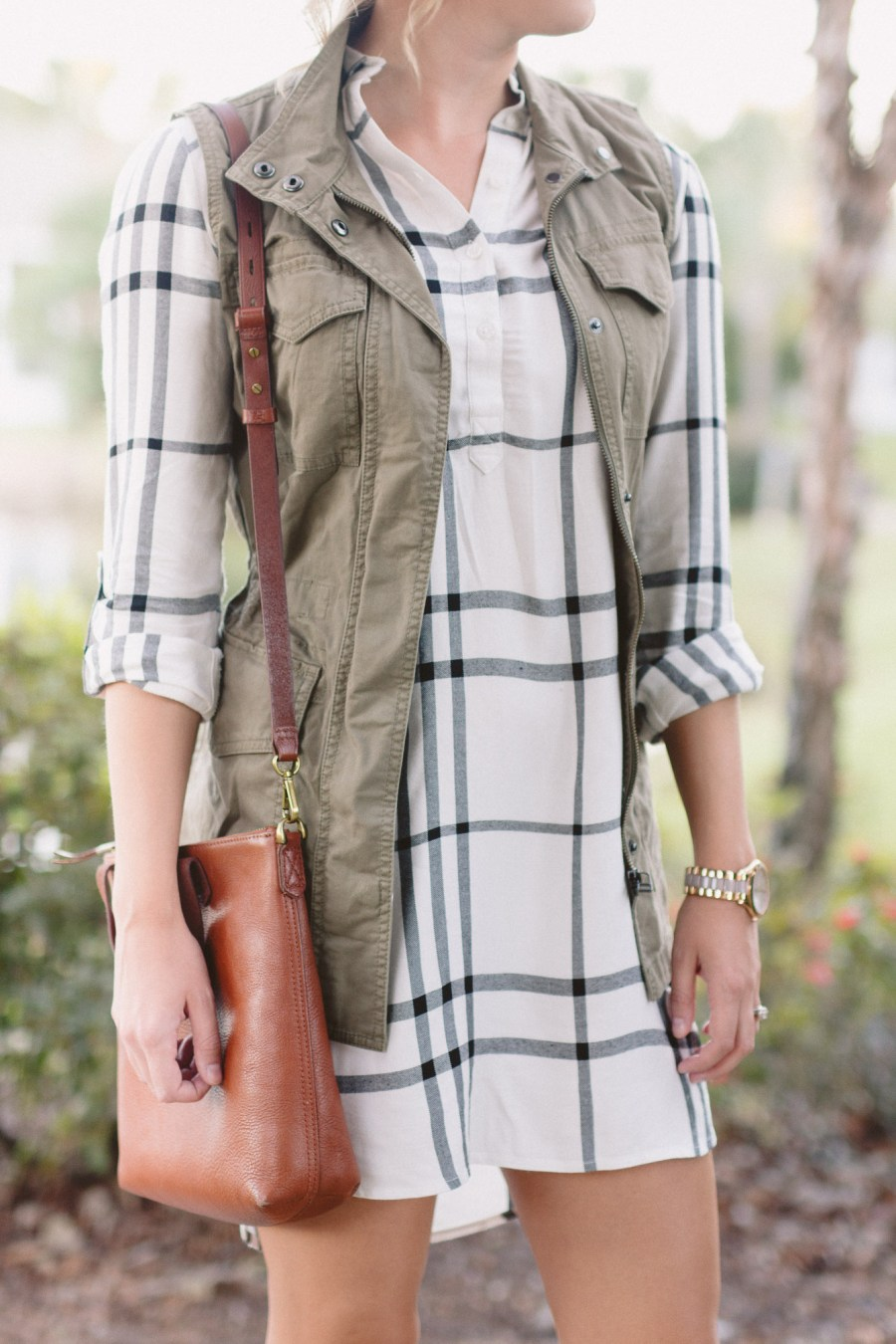 How To Style a Shirtdress for Fall