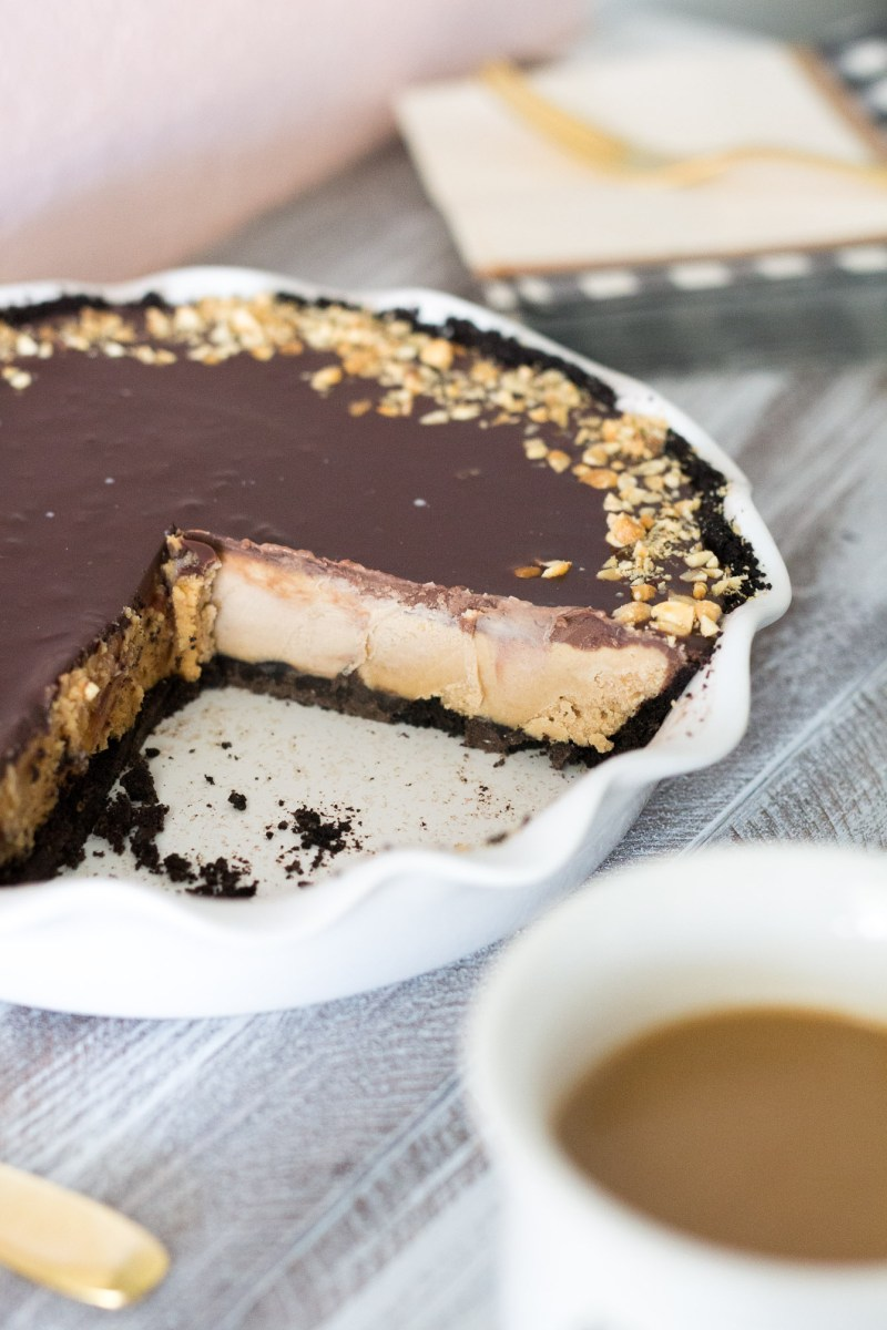 Chocolate Peanut Butter Pie and the Perfect Coffee Pairing