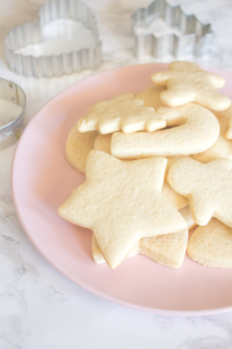 Soft Sugar Cookies for Decorating for Christmas
