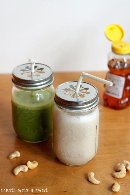 Honey Banana Smoothie (treatswithatwist.com)