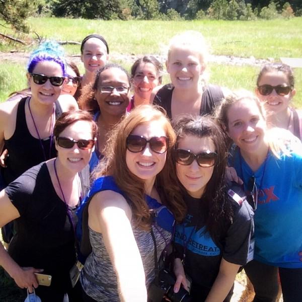 group shot - Blend retreat