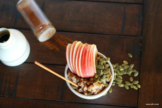 Apple Pie Oatmeal 1