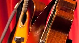 A picture of guitars by Carl Byron Batson