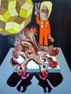 A picture of Split, Tom de Freston, 2013, oil on canvas, 200 x 150cm