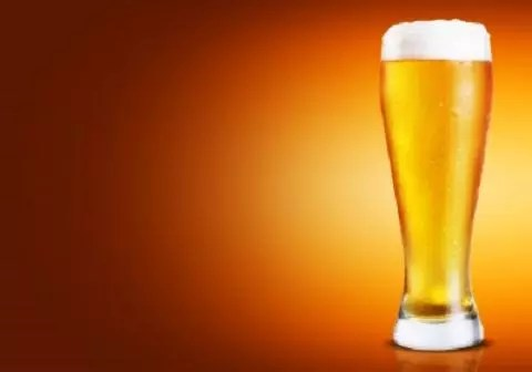 A picture of a glass of beer