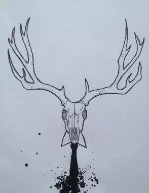 Stag by Dan Booth