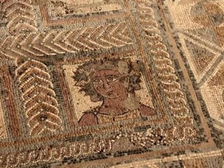 Roman mosaic by Sean Keenan