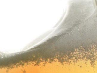 sloshing beer