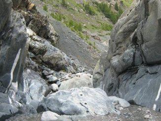 Swiss erosion grafitti
