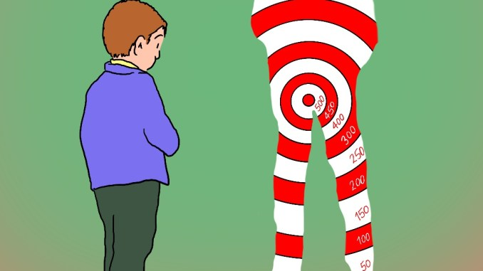 Target Practice: Satirical Saturday Cartoon on Art by Alex Brenchley 2019