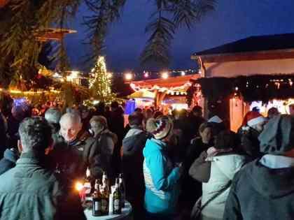Weihnachtsmarkt an der Treckerstube in Wolfersweiler